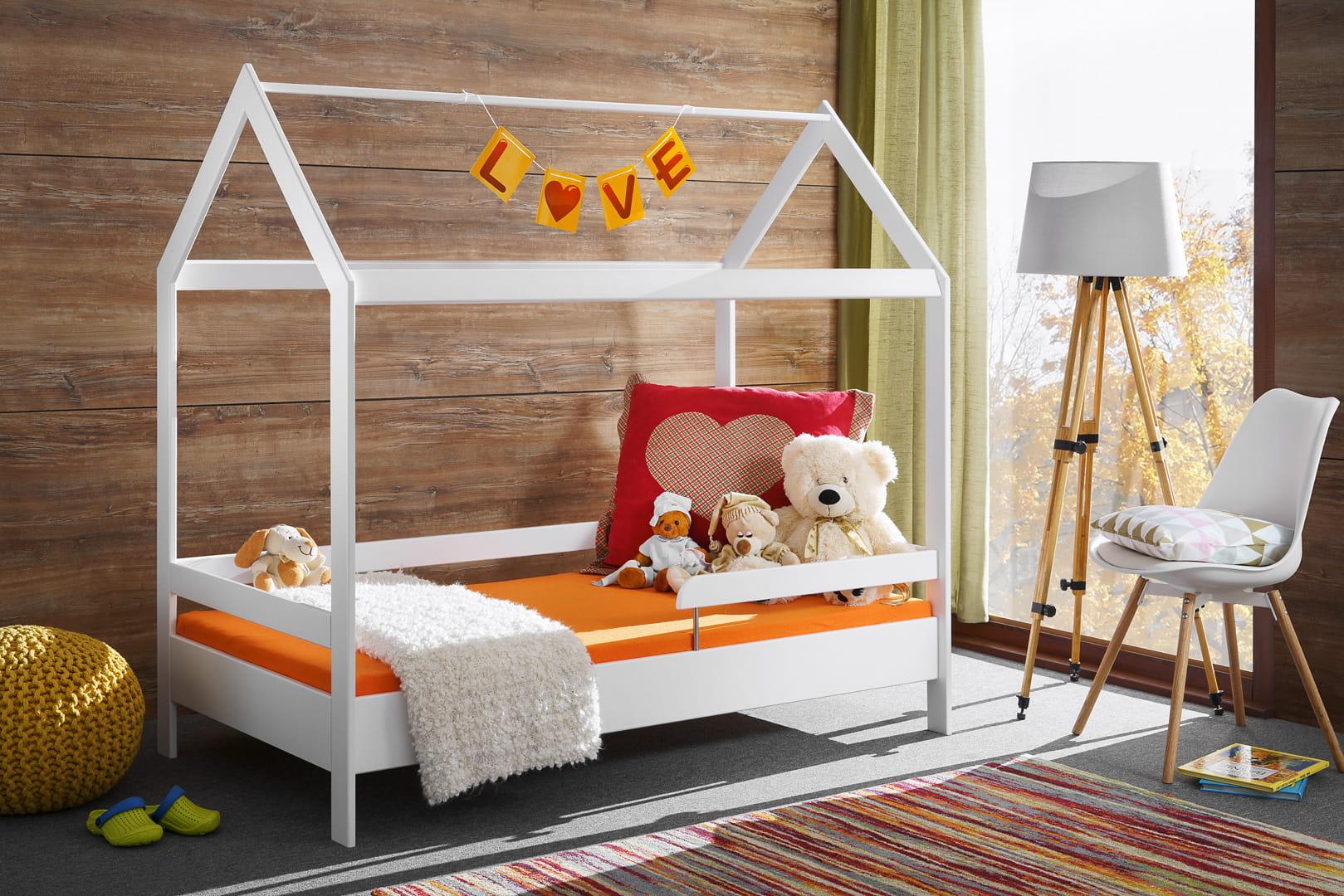 Łóżko dziecięce TYMMI HAUSE Biały Mat